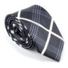 black_and_white_plaid_skinny_tie