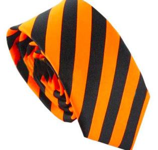 black_orange_skinny_tie_rack_australia_au