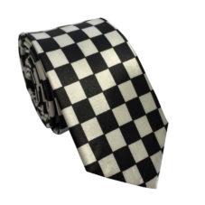 black_white_squares_skinny_tie_rack_australia_au