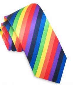 skinny_tie_rainbow_colour_rack_australia_aus