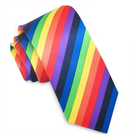 skinny_tie_rainbow_colour_rack_australia_aus