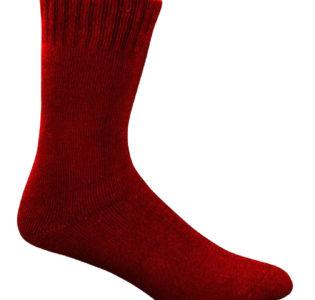 maroon-bamboo_work_socks