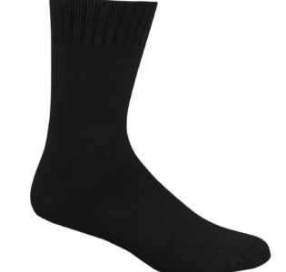 black_bamboo_work_socks