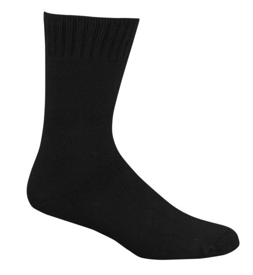 black_bamboo_work_socks