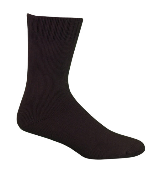 chocolate_bamboo_work_socks