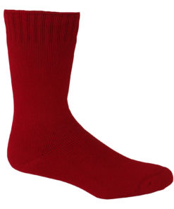 burnt_red_bamboo_work_socks
