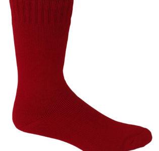 burnt_red_bamboo_work_socks