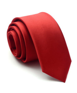 red_solid_skinny_tie_rack_australia_au