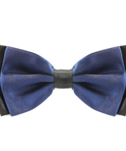 navy_blue_two_tone_layered_bow_tie_rack_australia