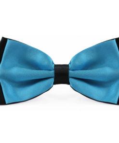 two_tone_aqua_black_bow_tie_rack_australia