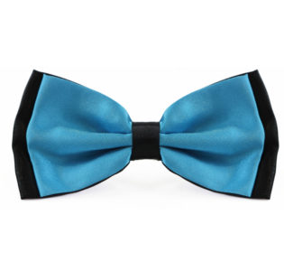 two_tone_aqua_black_bow_tie_rack_australia
