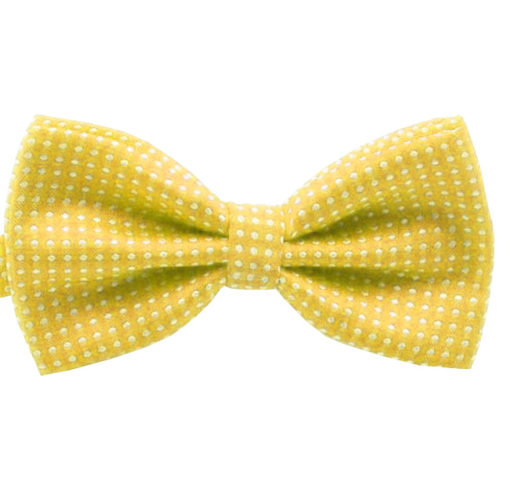 yellow_polka_dot_bow_tie_bowties_rack_australia