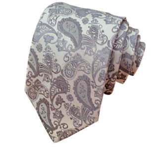 Grey-and-Gunmetal-Paisley-Tie-Rack-Australia