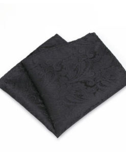 black_paisley_pocket_square_tie_rack_australia