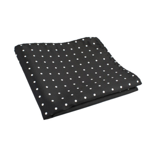 black_polka_dot_pocket_square