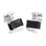 black_silver_pyramid_cufflinks_ties