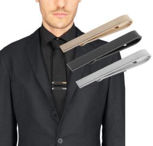 mens_silver_gold_black_tie_clip_tie_rack_australia