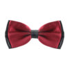 two_tone_layered_bow_tie_maroon_rack_australia_au