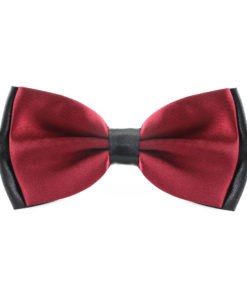two_tone_layered_bow_tie_maroon_rack_australia_au