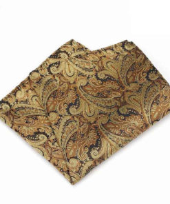 yellow_paisley_pocket_square_tie_rack_australia_au