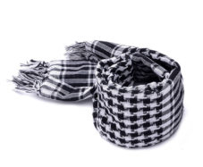 black_ans_white_mens_scarf_tie_rack_au