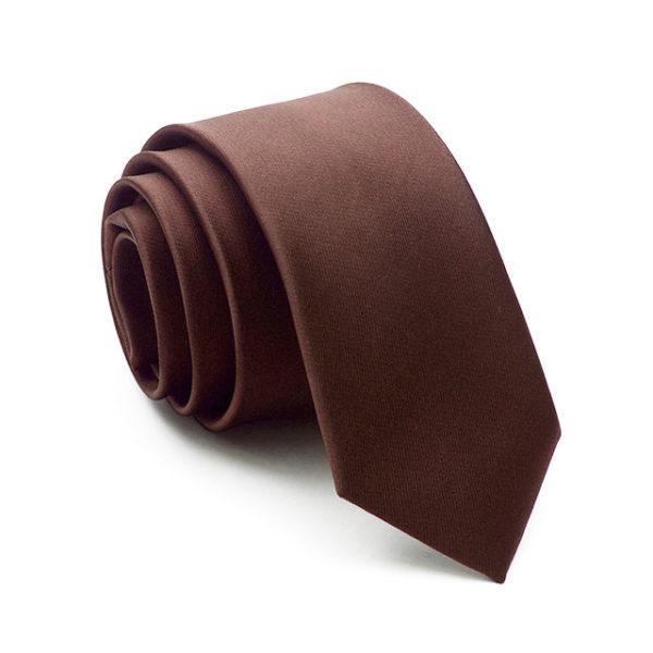 chocolate_brown_solid_skinny_tie_rack_australia_au