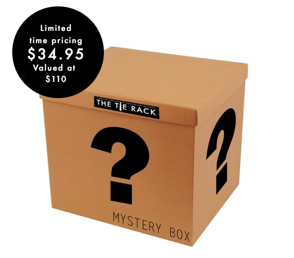 The Tie Rack Mystery Box