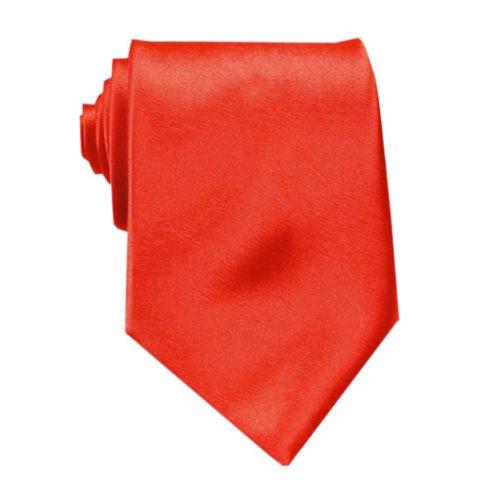 red_orange_solid_neck_tie_rack_australia_au