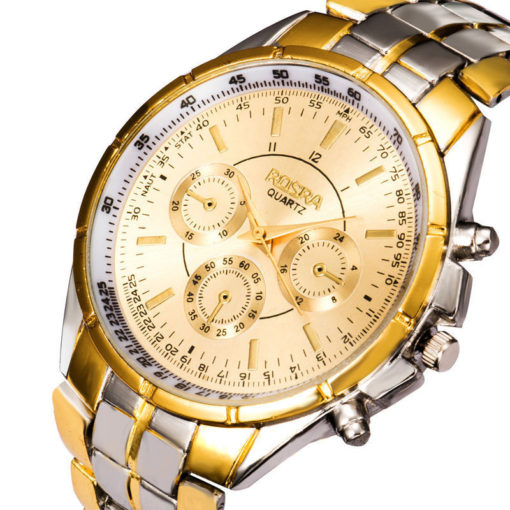 rosra_quartz_mens_gold_watch_australia_face