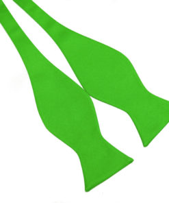 fluro_green_self_tied_bow_tie_rack_australia