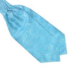 sky blue ascot cravat tie rack australia
