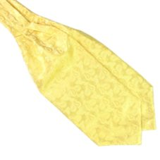 yellow ascot cravat tie rack australia
