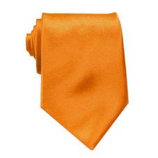 tangerine_solid_neck_tie_rack_australia_au