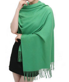 green_unisex_pashima_scarf_tie_rack_au_australia