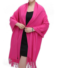 pink_pashima_shawl_unisex_tie_rack_australia_au