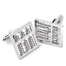abacus_silver_cufflinks_math_tie_rack_australia_au