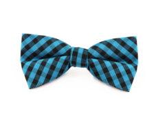 aqua_black_checkered_cotton_bow_tie_rack_australia_au