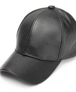 black_leather_baseball_cap_tie_rack_australia_au_aus