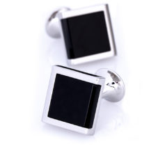 black_silver_square_cufflinks_cuffs_australia_au_aus_weddings