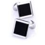 black_silver_square_cufflinks_cuffs_australia_au_aus_weddings