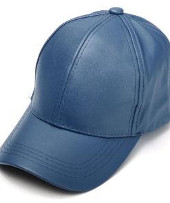 blue_leather_baseball_cap_tie_rack_australia_au_aus
