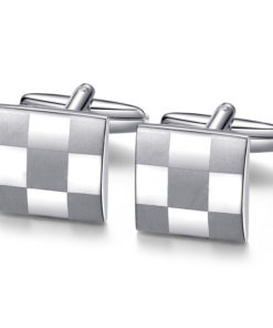 checkered_silver_cufflinks_tie_rack_australia_au