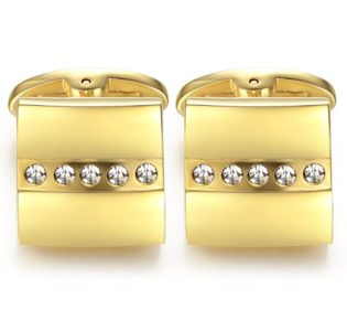 gold_square_mens_cufflinks_tie_rack