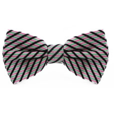 pink_white_black_green_striped_cotton_bow_tie_rack_australia_au