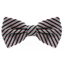 pink_white_black_green_striped_cotton_bow_tie_rack_australia_au