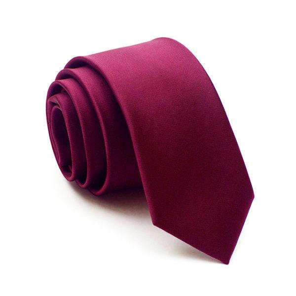 burgundy_red_solid_skinny_tie_rack_australia_au