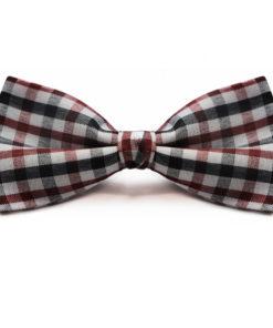 white_dark_red_black_checkered_bow_tie_rack_australia_au