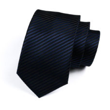 striped_navy_silk_neck_tie_rack_australia_online