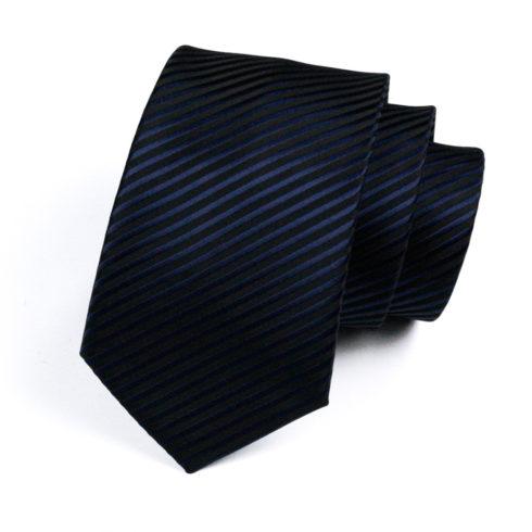 striped_navy_silk_neck_tie_rack_australia_online