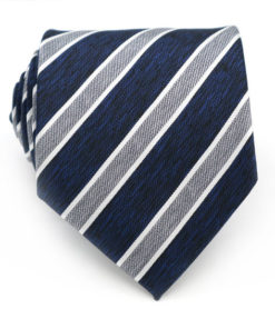 navy_blue_grey_striped_textured_neck_tie_rack_australia